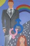 Gender mural