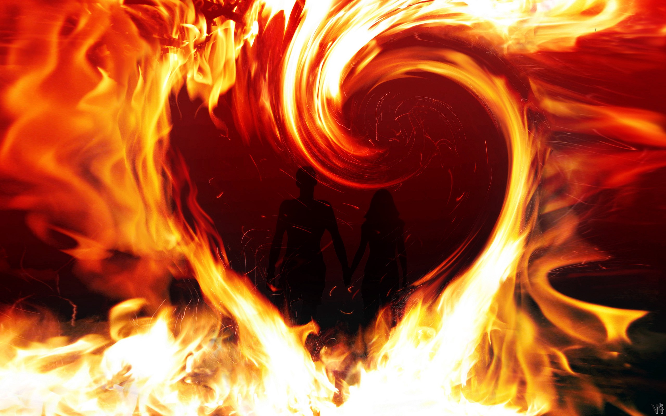 Image result for love on fire